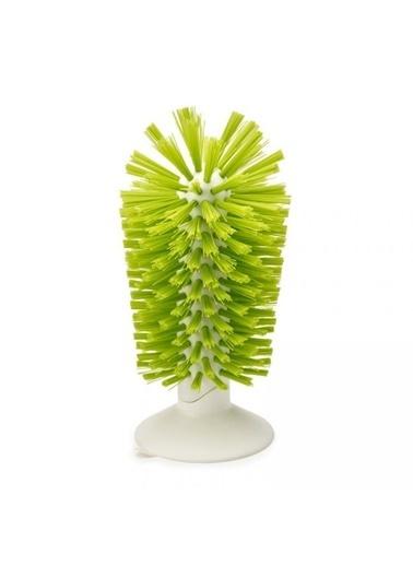 Joseph Joseph Brush-Up Vantuzlu Lavabo İçi Fırçası -Yeşil Renkli